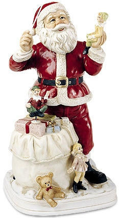 Santa Claus - 1998 - Melody In Motion Figurine