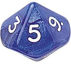 Ten Sided Dice Assortment - 01-10 - Set of 2