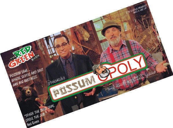 Monopoly - Red Green's PossumOpoly Game
