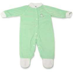 Mint Green Sleeper - Velour - 20 pounds