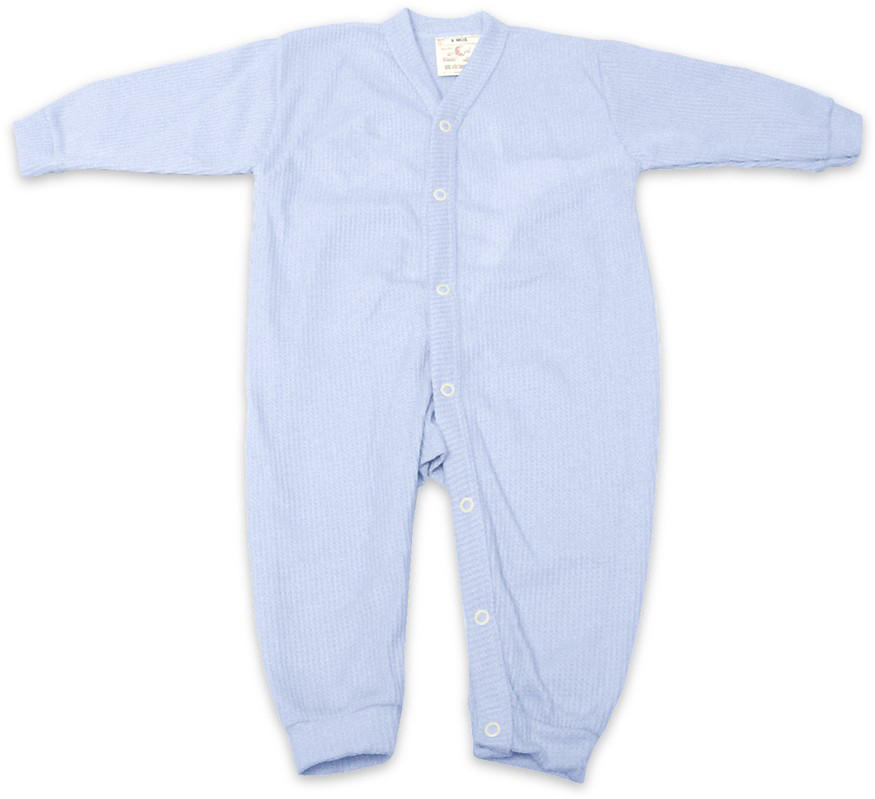 Thermal Underwear - Blue - 3 months