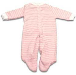 Pink Striped Extra Heavy Terry Sleeper - 20 pounds