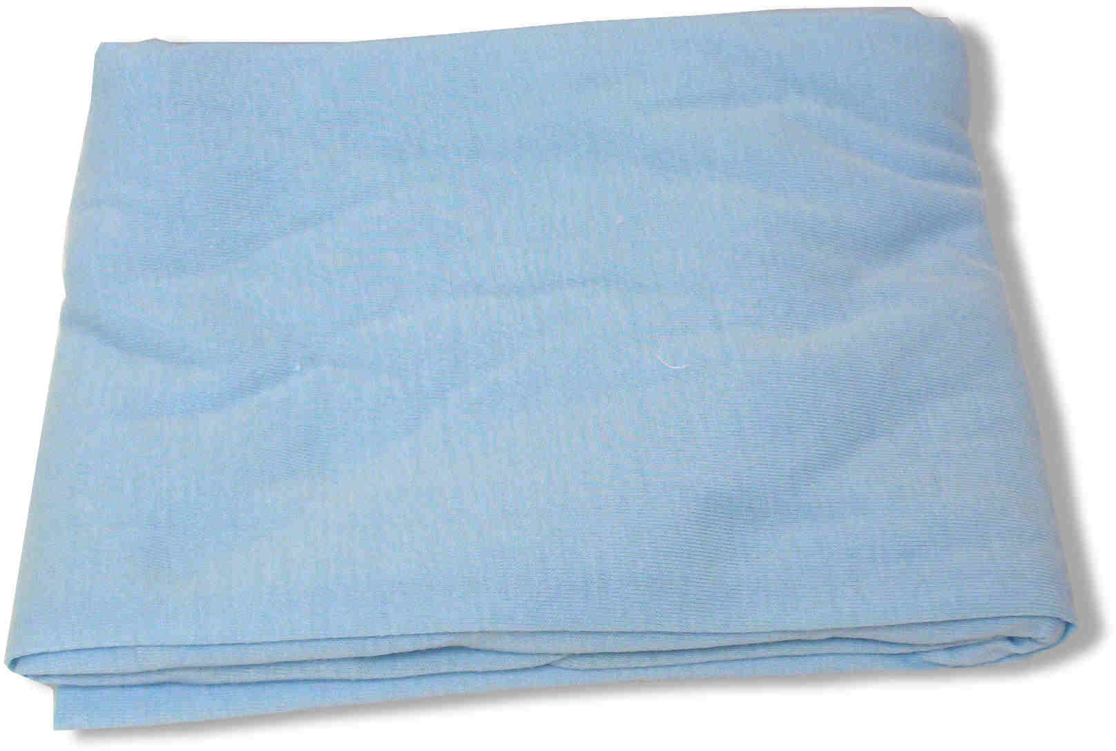 Fitted Bottom Crib Sheet - Blue