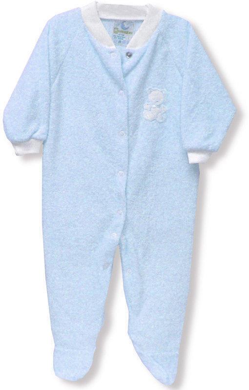 Blue Terry Sleeper - Size 3X