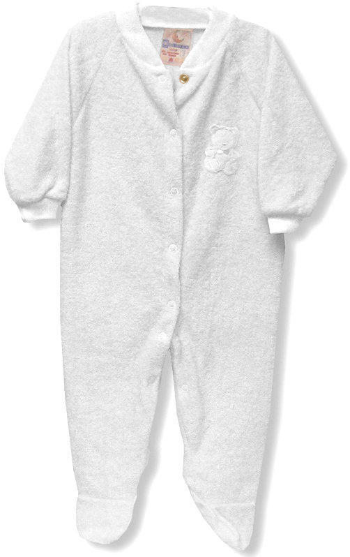White Terry Sleeper - Size 3X