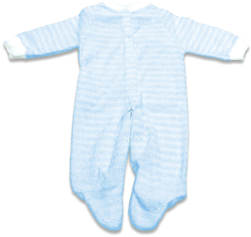 Blue Striped Extra Heavy Terry Sleeper - 20 pounds