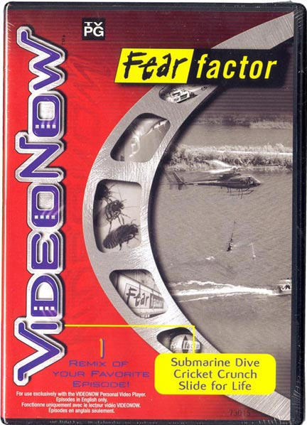 Fear Factor - Volume 1 - Single Video Disc - Remixes of 3 Episodes!