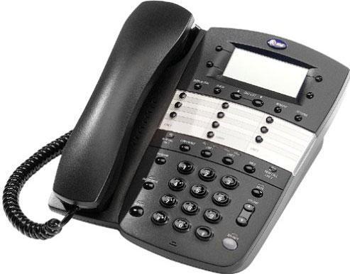 AT&T Corded Phone - 972 - Espresso