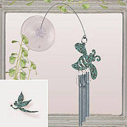 Jacob's Window Charm Chimes - Fairy