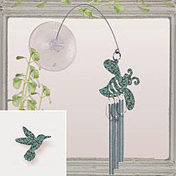 Jacob's Window Charm Chimes - Hummingbird