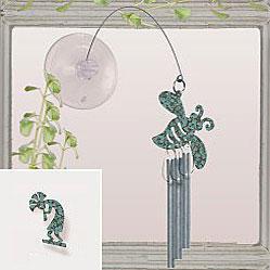 Jacob's Window Charm Chimes - Kokopelli