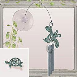 Jacob's Window Charm Chimes - Turtle