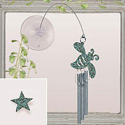 Jacob's Window Charm Chimes - Star