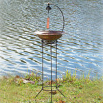 Woodstock Musical Birdbath - 48 inches