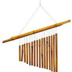 Woodstock Bamboo Tang Chimes - 20 inches