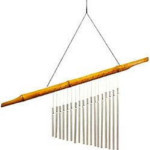 Woodstock Bamboo Song Chimes - 17 inches