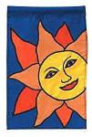 Mini Appliqué Flag - Sun
