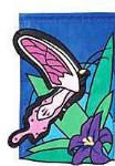 Mini Appliqué Flag - Butterfly