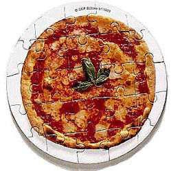 Pizza Puzzle - Marguerita - 25 Pieces