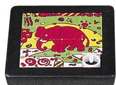 Crazy Designs - Elephants - 15 Sliding Pieces