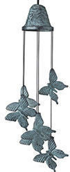 Woodstock Butterfly Windbell - 21 inches