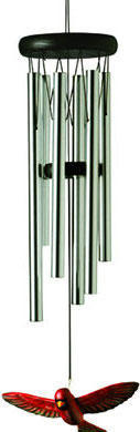 Woodstock Northern Cardinal Chimes - 19 inches
