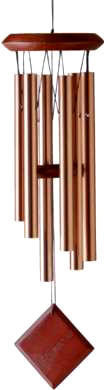 Woodstock Chimes of Mars - Bronze - 17 inches