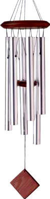 Woodstock Chimes of Pluto - Silver - 27 inches