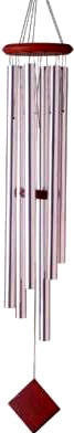 Woodstock Chimes of Neptune - Silver - 54 inches