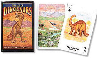 The Age of Dinosaurs Playing Cards