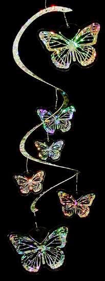White Eagle Spiral Mobile - Butterfly