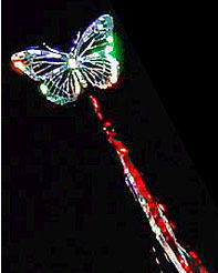 Butterfly Wand - Red