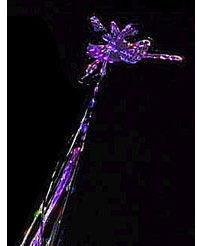 Dragonfly Wand - Purple