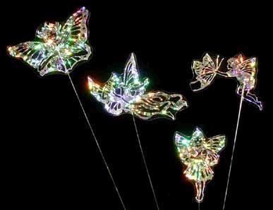 Rainbow Planter Ornaments - Set of 4