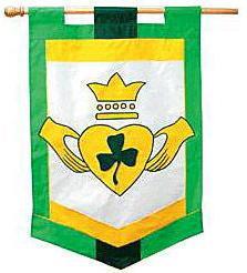 Appliqué Flag - Irish Friendship