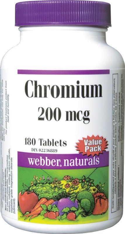 Chromium Chelate - 200 mcg