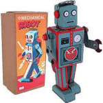 Robot Radiocon - Mechanical Robot - For Collectors - Not a Toy