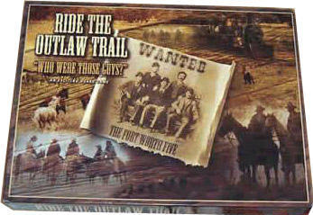 Ride the Outlaw Trail Game - Wanted, The Fort Worth Five - Who Were Those Guys???