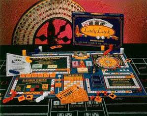 Lady Luck Board Game - Additional View