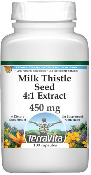 Milk Thistle Seed 4:1 Extract - 450 mg