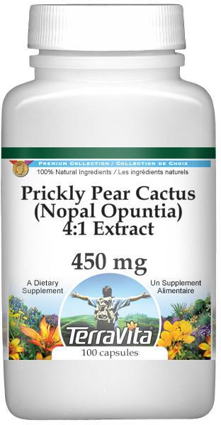 Prickly Pear Cactus (Nopal Opuntia) 4:1 Extract - 450 mg