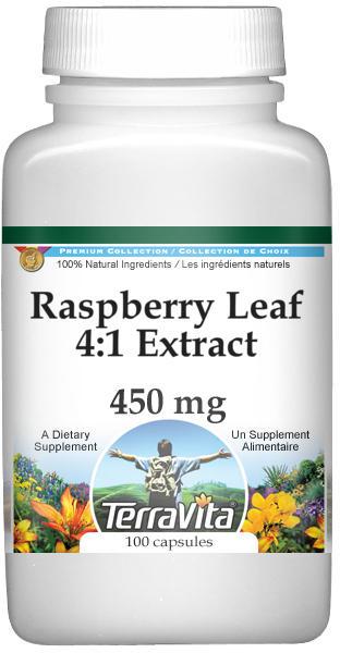 Raspberry Leaf 4:1 Extract - 450 mg
