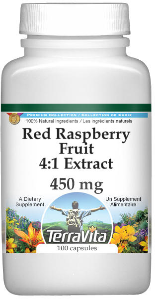 Red Raspberry Fruit 4:1 Extract - 450 mg