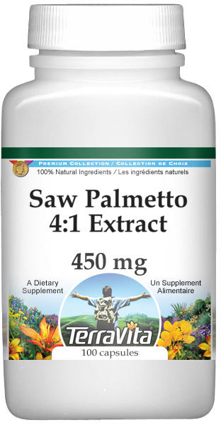 Saw Palmetto 4:1 Extract - 450 mg
