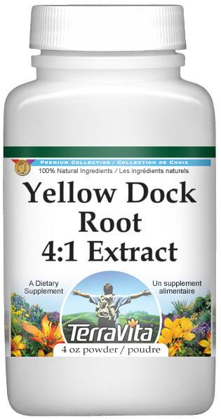 Yellow Dock Root 4:1 Extract Powder