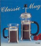 French Press Mug - Royal Ceylon Tea Cup - Chrome Stainless Steel
