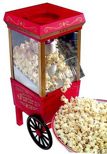 Old Fashioned Movietime Countertop Popcorn Popper