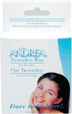 Tweezeless Wax for the Face