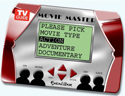 TV Guide Movie Master - Never Rent a Movie Without It!
