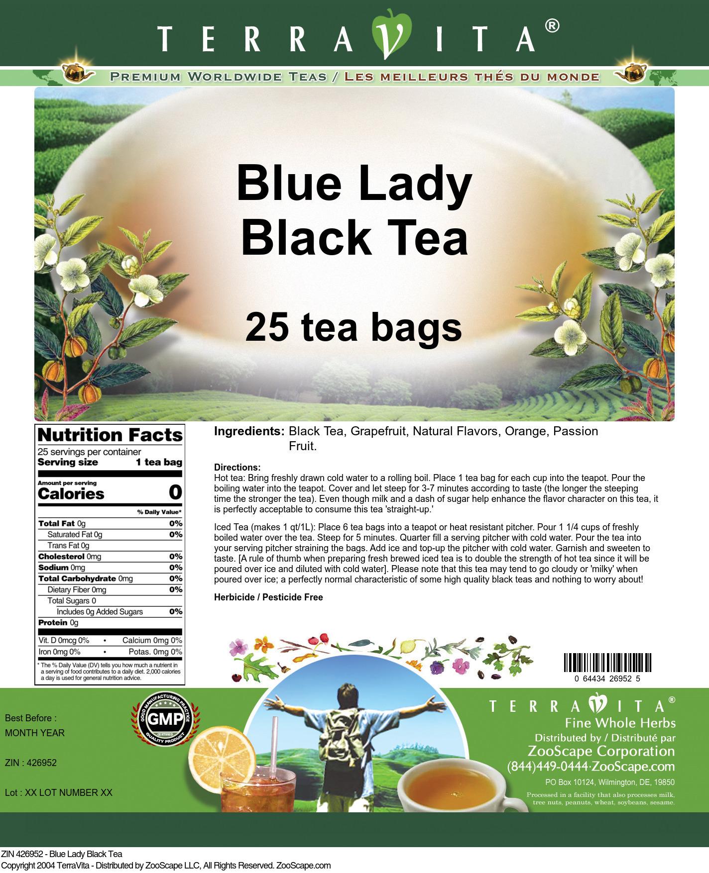 Blue Lady Black Tea